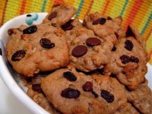 Honey Almond Breakfast Cookies