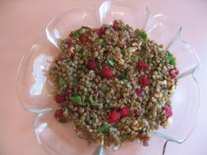 Fruity French Lentils