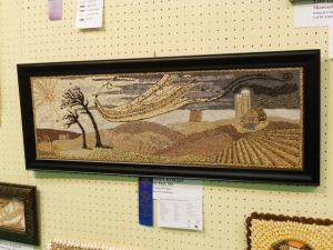 Blue Ribbon Crop Art