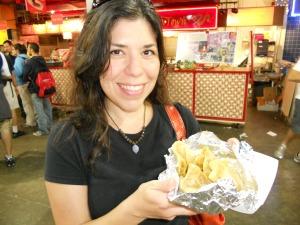 Chickpea and Potato Roti