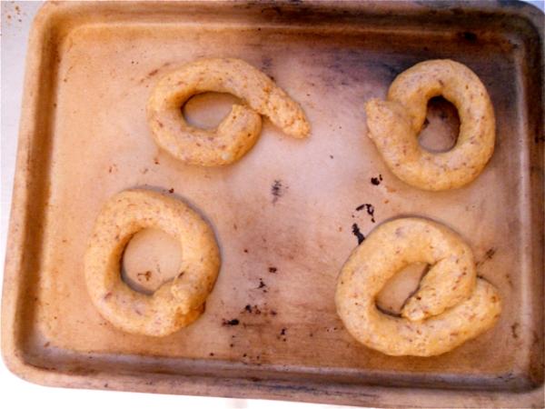 Donut Dough - not the best circles.