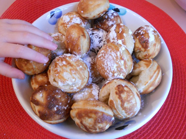Little Hand Reaching for Aebleskiver